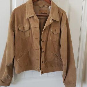 Women's corduroy tan jacket